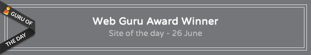 Urip on Web Guru Award